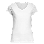 Ladies Vneck Tshirt